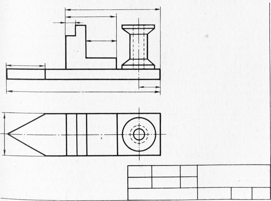 чертеж кораблика для прикормки