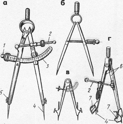 Как сделать слесарный циркуль