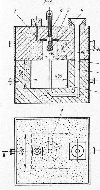 2 — литниковая система;