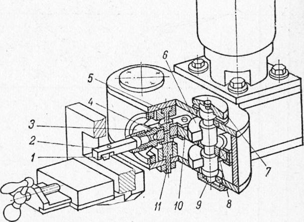 Схема веерного сортировочного