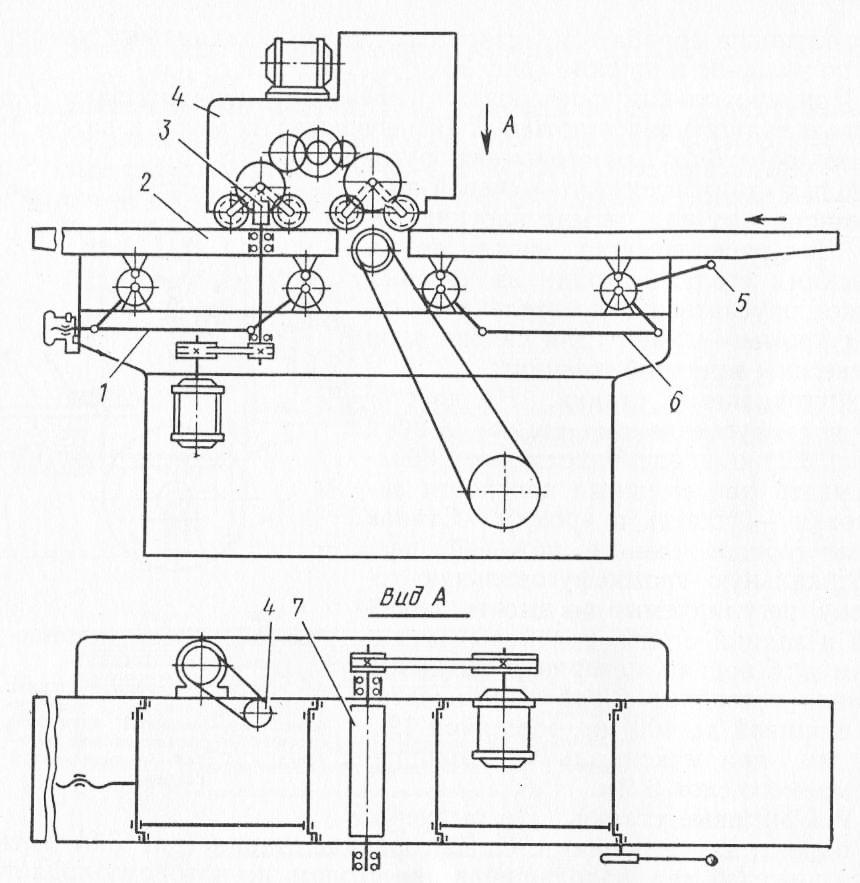 Схема устройства двустороннего