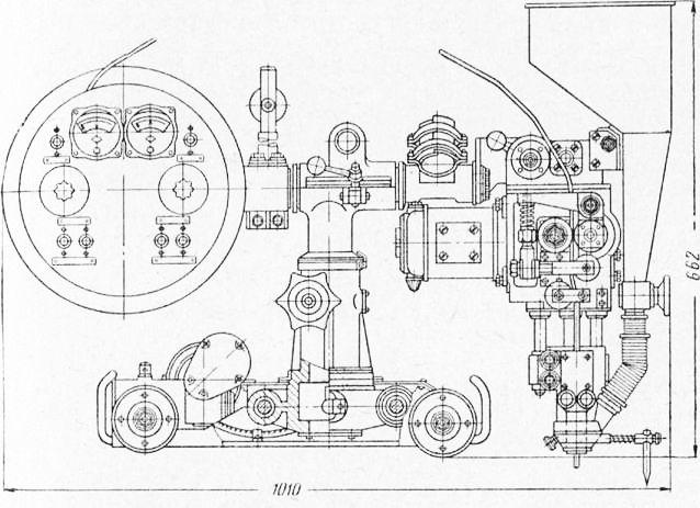 Сварочный трактор АДС-1000-2