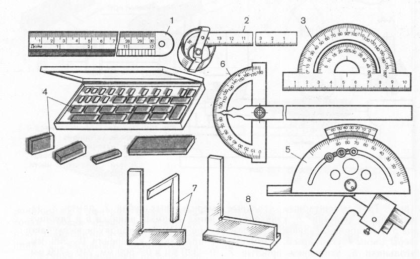 Контрольно измерительный инструмент Токарное дело Контрольно измерительный инструмент