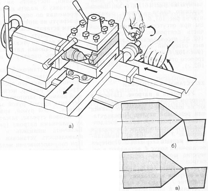 резца схема установка